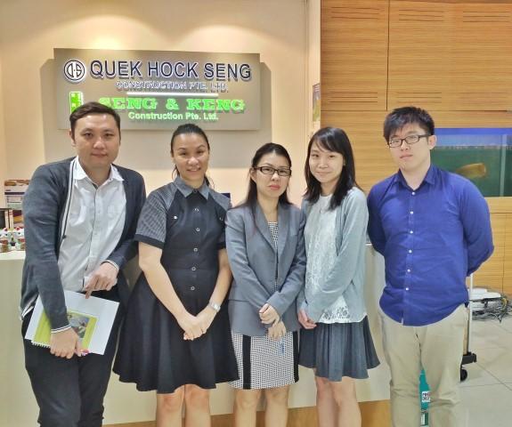 Software Presentation - Quek Hock Seng Construction Pte Ltd