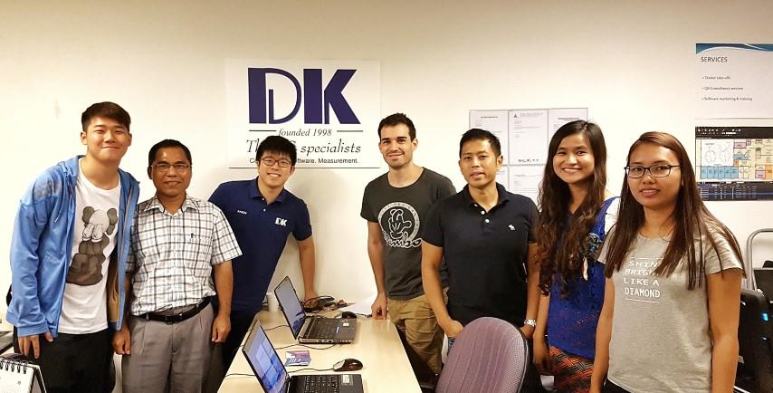 Software Training – DLE M&E Pte Ltd