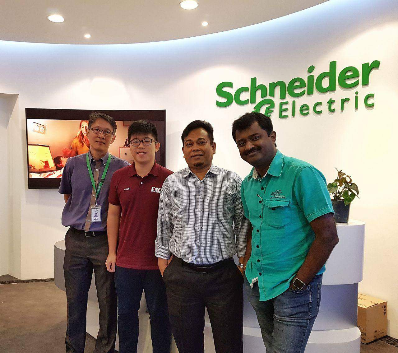 Consultation Meeting @ Schneider Electric