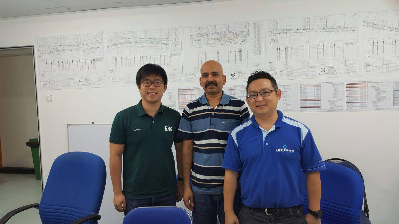 Consultation Meeting @ Shanghai Tunnel Engineering Co (Singapore) Pte Ltd (MRT Contract T305)