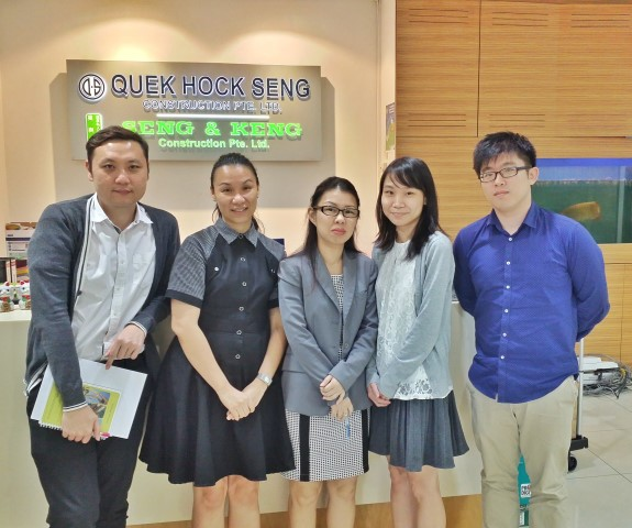 Software Presentation - Quek Hock Seng Construction Pte Ltd