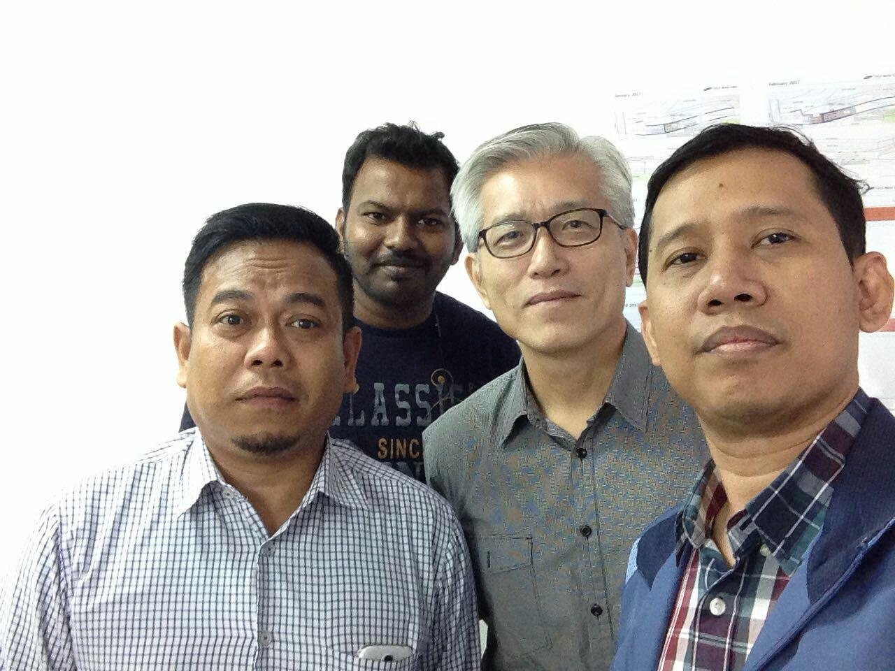 Site Meeting with Samsung C&T @ T313 - 7 Feb 2017